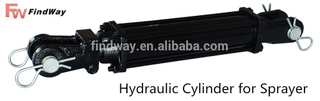 Agricultural use cylinder hydraulic
