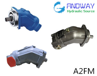 Axial Fixed Piston motor A2FM used in concrete truck mixer