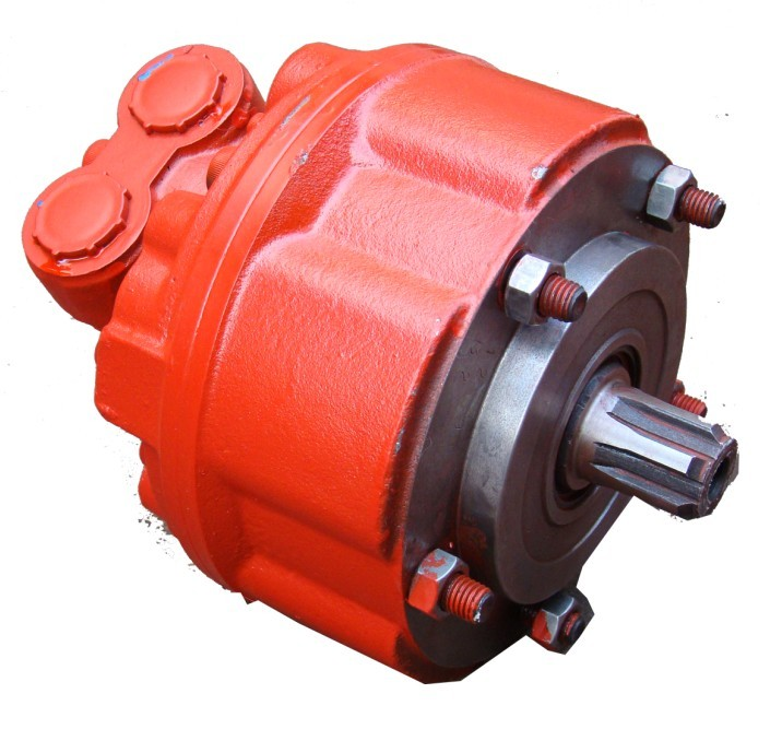 GM Radial piston motor used for Harvester